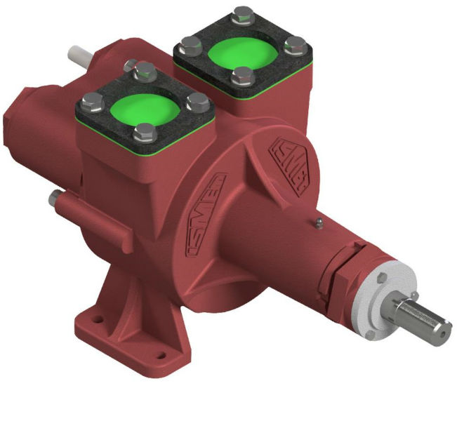 Er 1114 y                                                                                           It is a constant flow pump that is not affected by pressure conditions. It also works at high efficiency in high viscous products. It can be used for both filling and unloading by changing the direction of rotation. It can be dry run for a short time, it can work in high temperature environments, easy to maintaintenance. It can be used easily in the transfer and distribution processes of petroleum based fuels, lubricating oils, resins, polymers, food industry fluids.